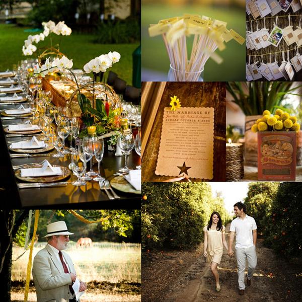 Bruiloft decoratie buiten alle beste ideeën en